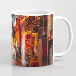 Warmth of Neon Tokyo Signs Coffee Mug