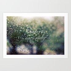 Summer Rain 2 Art Print