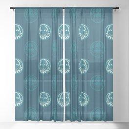 Myths & monsters: Cthulhu Sheer Curtain