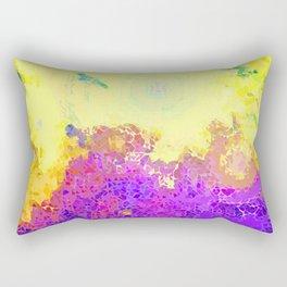 Life's Eruption  Rectangular Pillow