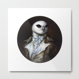 Sir Kite Metal Print
