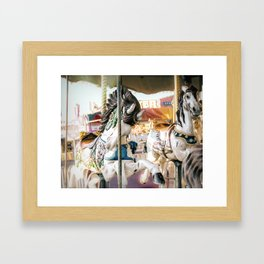 Merry-go-round Framed Art Print