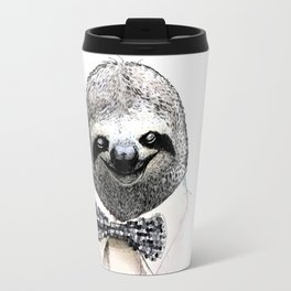 Sloth in a Bow Tie Travel Mug