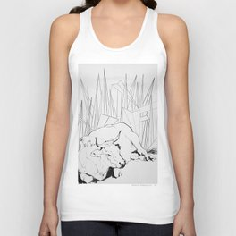 Collage Cow 41 Unisex Tank Top
