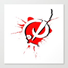 Badass Art Logo v2 Canvas Print