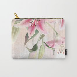 Blush lilium Carry-All Pouch