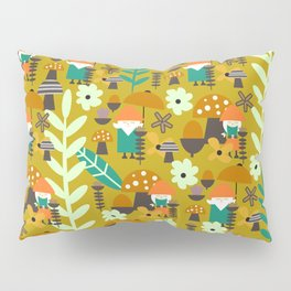 Autumn gnome garden Pillow Sham