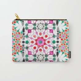 Pink Moorish Carry-All Pouch