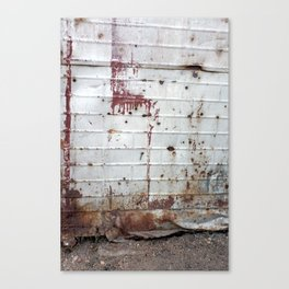 Rust and Red Canvas Print