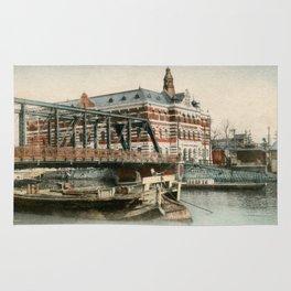 1900 Minatobashi Bridge Yokohama Rug