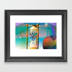 Tétrodlabel Framed Art Print