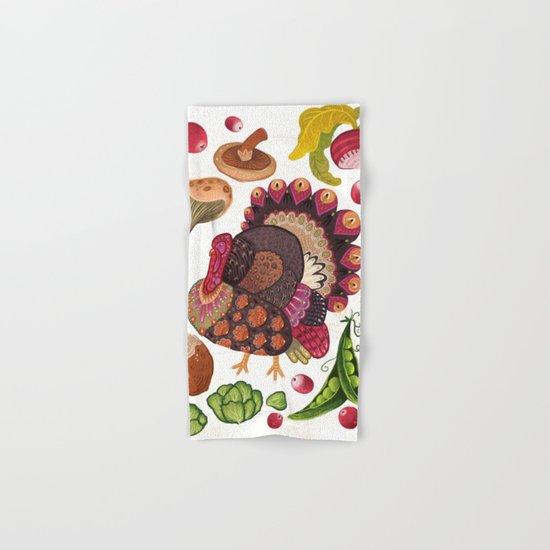 Thanksgiving Dinner Hand & Bath Towel