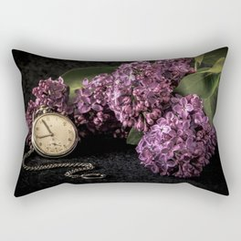 As time goes by Rectangular Pillow