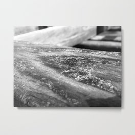 Drying Board Metal Print
