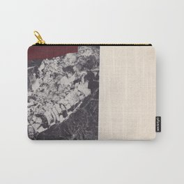 Collage vintage abstract chine-colle black and white photography Carry-All Pouch