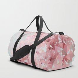 Meshed Up Sakura Blossoms Duffle Bag
