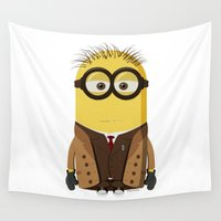 doctor who Wall Tapestries featuring Doctor Who by Henrik Norberg