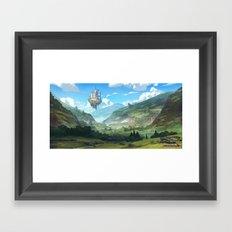 Lost Valley Framed Art Print