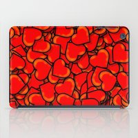 hearts iPad Cases featuring Heart by 10813 Apparel