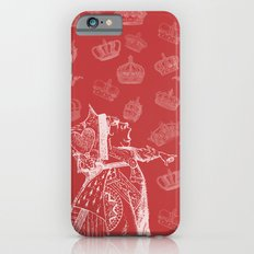 Queen of Hearts and Crowns Slim Case iPhone 6s