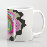 coasters Mugs featuring Color Wave by Georgiana Paraschiv