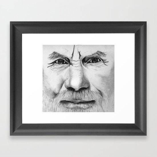 Untitled (Face Number 2) Framed Art Print
