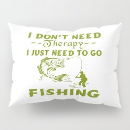 GO FISHING Pillow Sham