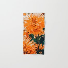 Coral Floral Hand & Bath Towel