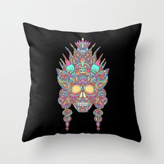Eternal Life and her family in the mirror of creation Throw Pillow