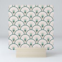 Art Deco Fan Mini Art Print