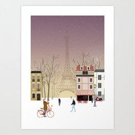 the Parisian way of life Art Print
