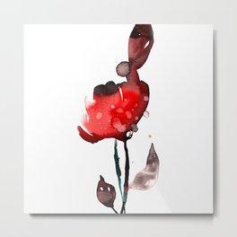Flower Zen 6b by Kathy Morton Stanion Metal Print