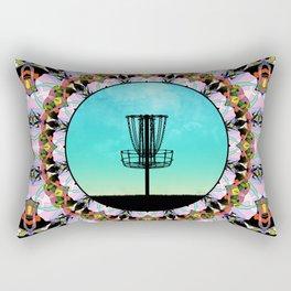 Disc Golf Abstract Basket 4 Rectangular Pillow