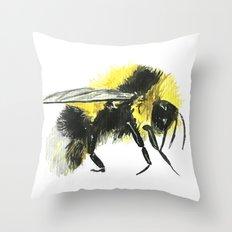 Bumblebee 2 Throw Pillow