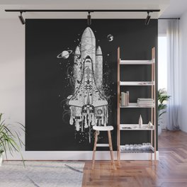 Rocket Wall Mural