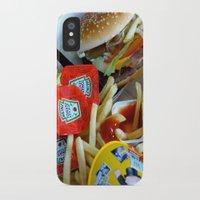 junk food iPhone & iPod Cases featuring Junk Food by Renatta Maniski-Luke