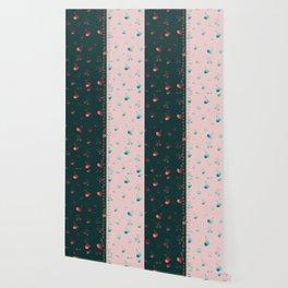 Rainbow cherries colour blocking Wallpaper