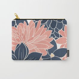 Summer Coastal Floral Carry-All Pouch