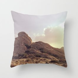 Vasquez Rocks Throw Pillow