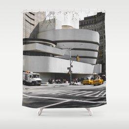 Guggenheim | Frank Lloyd Wright Architect Shower Curtain