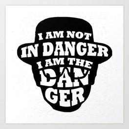 The Danger Art Print
