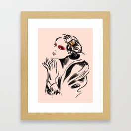 Blush Framed Art Print