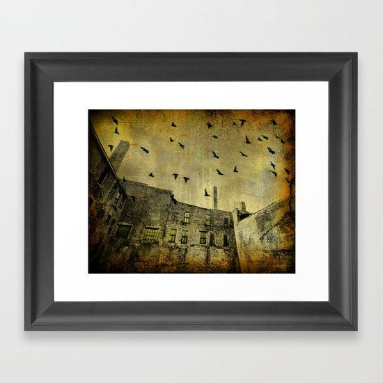 The Acid Sky Framed Art Print