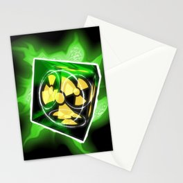 The Nuke Cube Stationery Cards