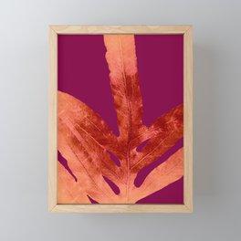 Red Wine Winter Nights, Romance Framed Mini Art Print