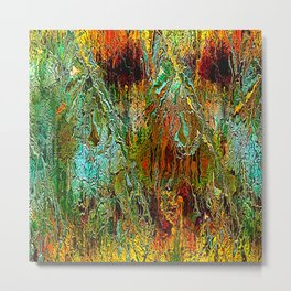 filaments of imagination Metal Print