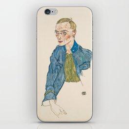 "Egon Schiele ""One-Year Volunteer Lance-Corporal"" iPhone Skin"