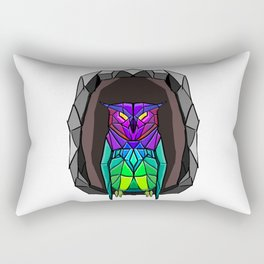 Crystal owl Rectangular Pillow