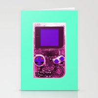 gameboy Stationery Cards featuring The Gameboy by Karachameleon