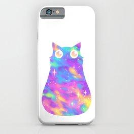 Pastel Galaxy Cat iPhone Case